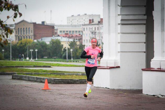 Ольга Весёлкина 25 км пройдено