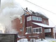 В Бачатском в один день случились два пожара