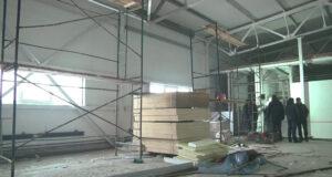 Реконструкция стадиона Шахтер в Бабанаково, Белово